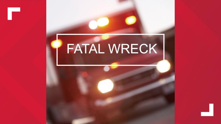 Two women from Arkansas died and a Crockett woman was sent to the hospital after the SUVs they were driving crashed into each other.