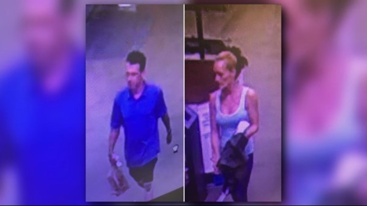 HAVE YOU SEEN THEM? The Mabank police department is looking for this man and woman.