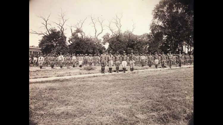 National Guard Troops in Longview