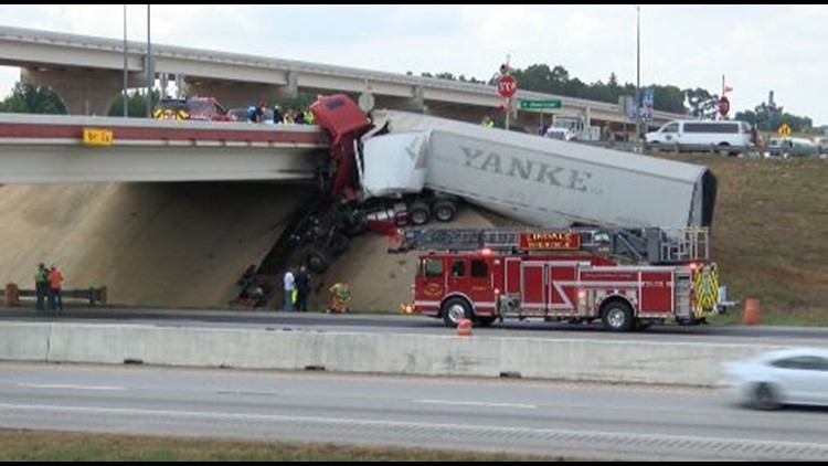 Following a fatal 18 wheeler wreck on Monday, NET RMA says the Toll 49 bridge that the driver crashed into is safe to drive on.