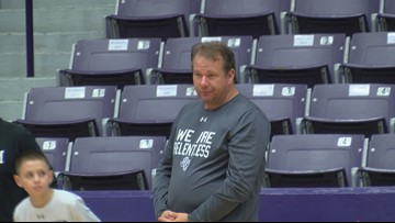 SFA basketball holds first practice of the year