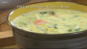 Mr. Food: Hearty Chicken & Corn Soup