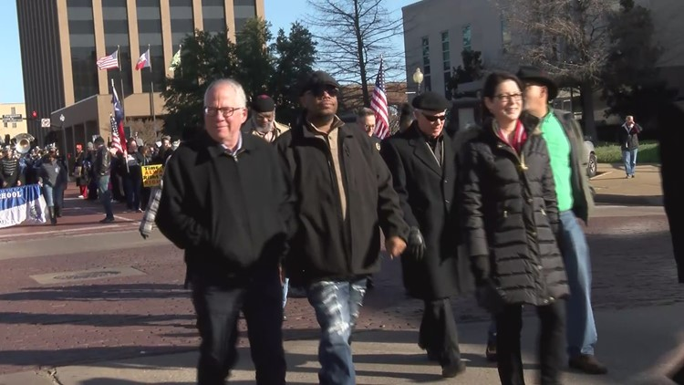 East Texans honor legacy of Dr. Martin Luther King Jr. with parade in downtown Tyler
