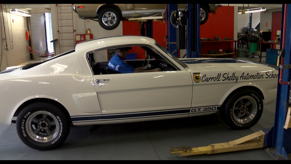 Carroll Shelby's legacy lives on in East Texas through college scholarship at Northeast Texas Community College