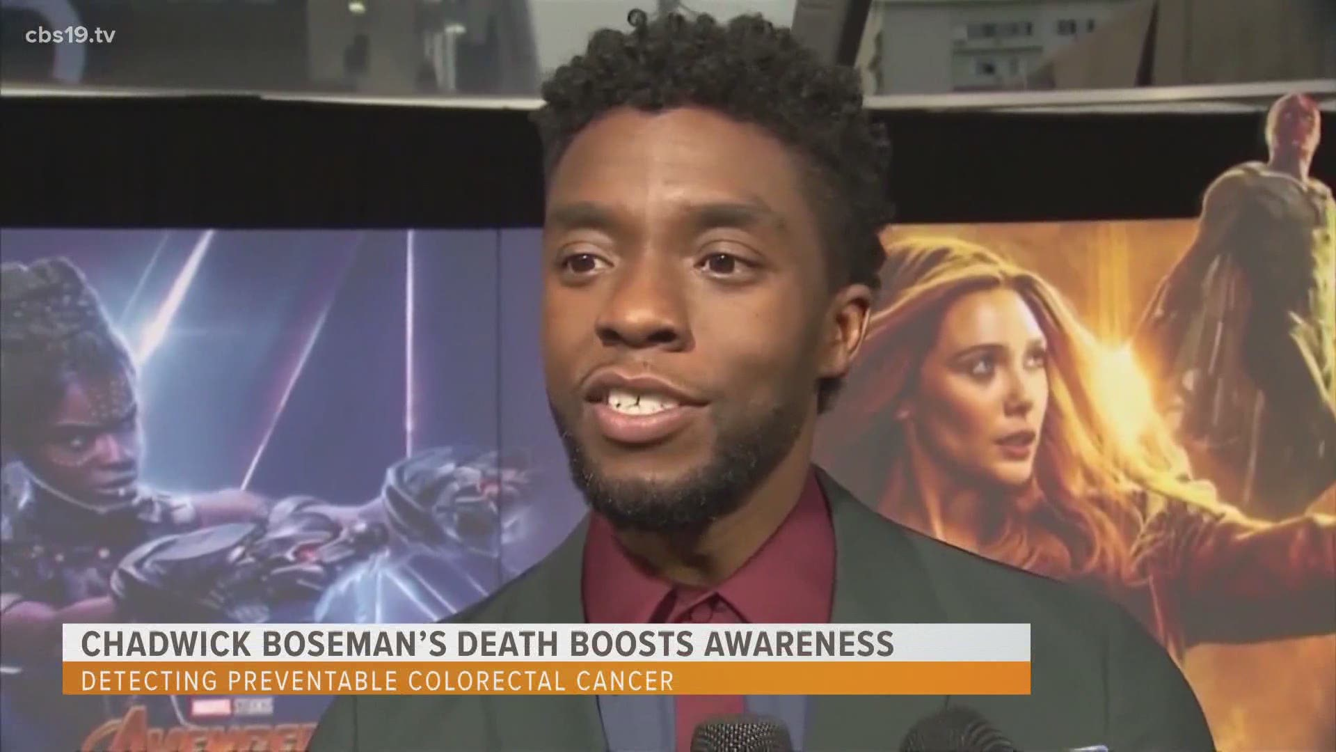 Chadwick Boseman S Death Raising Awareness Of Colon Cancer Risk In Younger Patients Cbs19 Tv