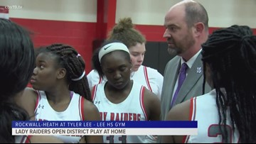 Lee girls open district play with a big win