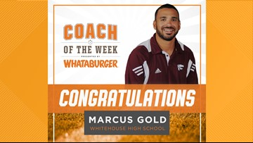 Whataburger Coach of the Week - Marcus Gold