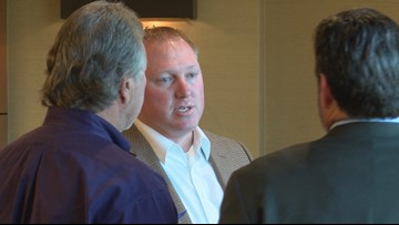 SFA alumni in Tyler get visit from special guests