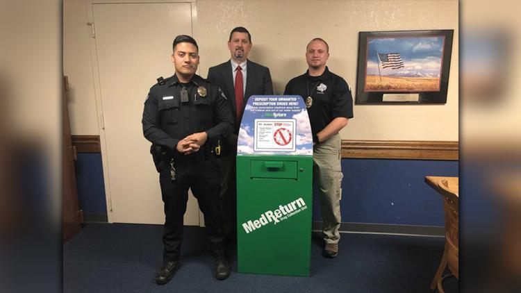 Gladewater Police Department installs prescription drug drop