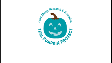 Teal Pumpkin's popping up across East Texas
