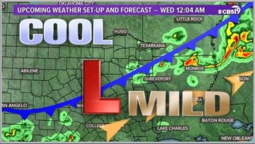 Strong to possibly severe storms expected tonight in East Texas