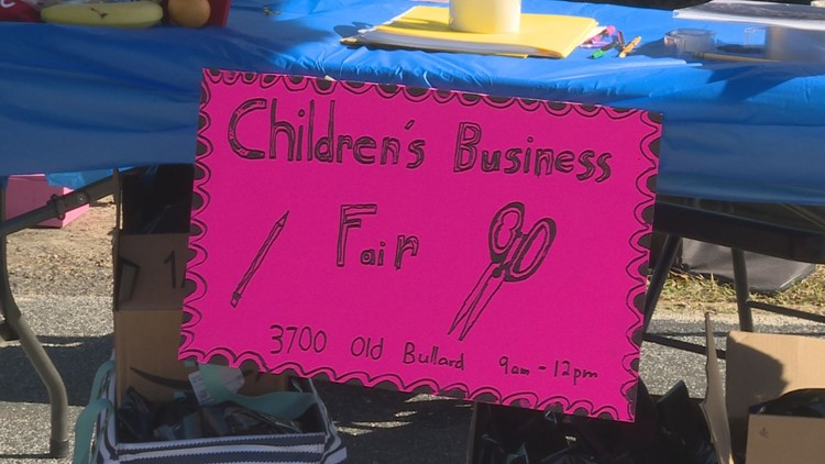 ETX business fair helps kids to be young entrepreneurs