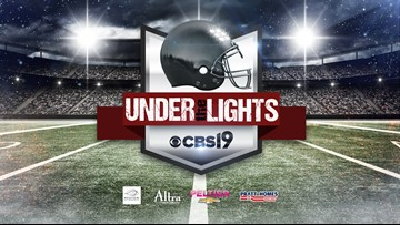Under The Lights - Area Round Schedule