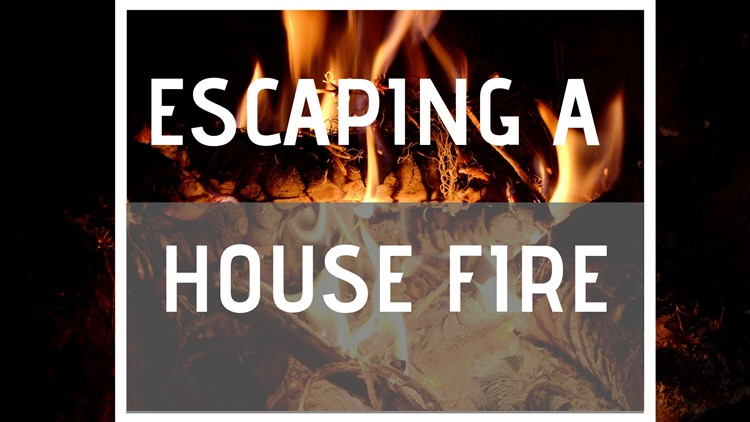 A race against the clock: Escaping a house fire