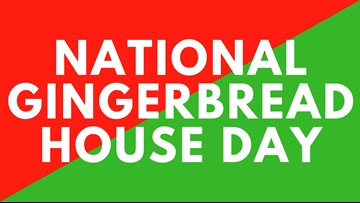 The Morning Loop: National Gingerbread House Day