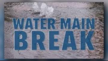 CITY: Crews working to repair water main break in Marshall