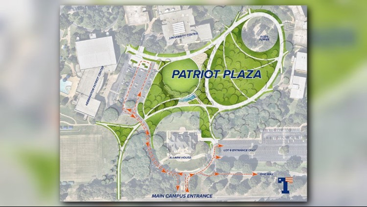 Parking, traffic changes now in effect at UT Tyler due to Patriot ...