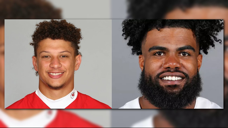 FAN VOTING OPEN: Patrick Mahomes, Ezekiel Elliott named finalists for FedEx NFL Players of the Year