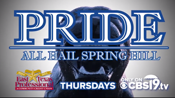 CBS19 introduces 1st East Texas high school football docuseries, 'PRIDE: All Hail Spring Hill'