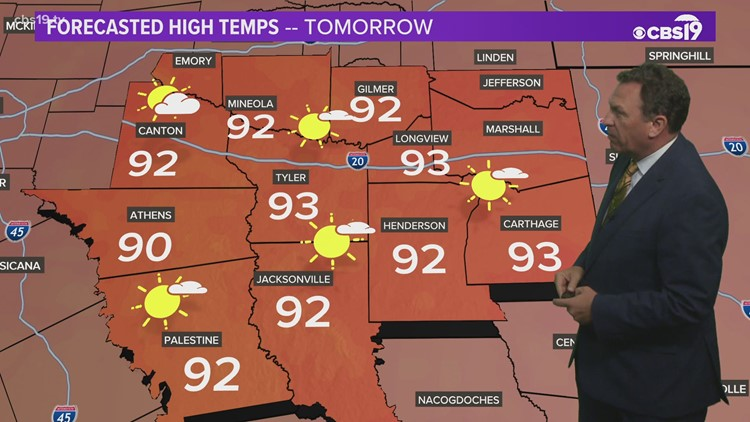 Thursday July 22nd, 2021 Evening Weather