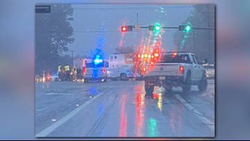 Tyler police on scene of major crash at intersection of Old Omen Road, University Boulevard