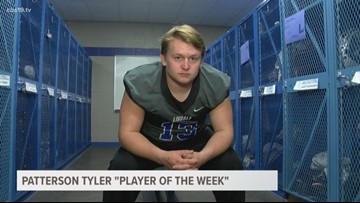 Patterson Tyler Player of the Week