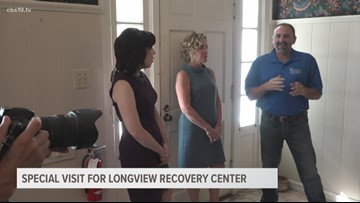Special Visit for Longview Recovery Center