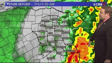 Rain is returning to the forecast
