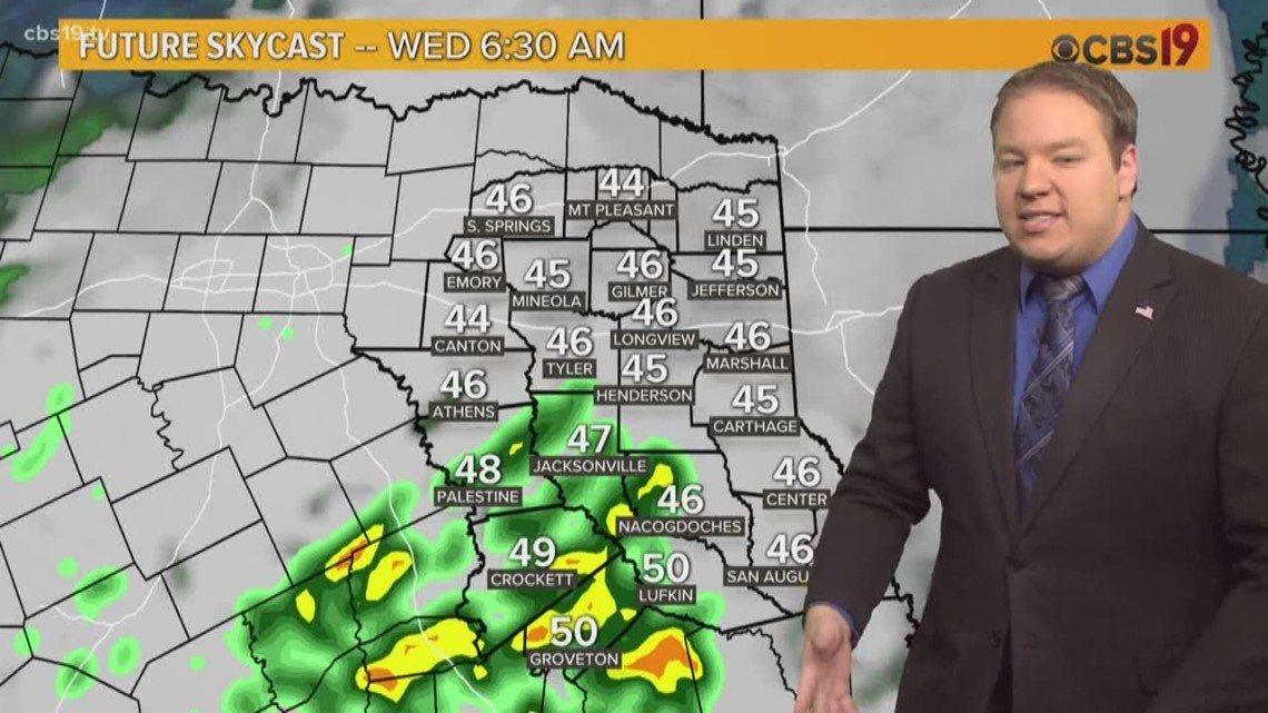 More fog this morning, rain by tomorrow morning