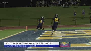 East Texas Professional Credit Union Player of The Week: D.J. Freeman