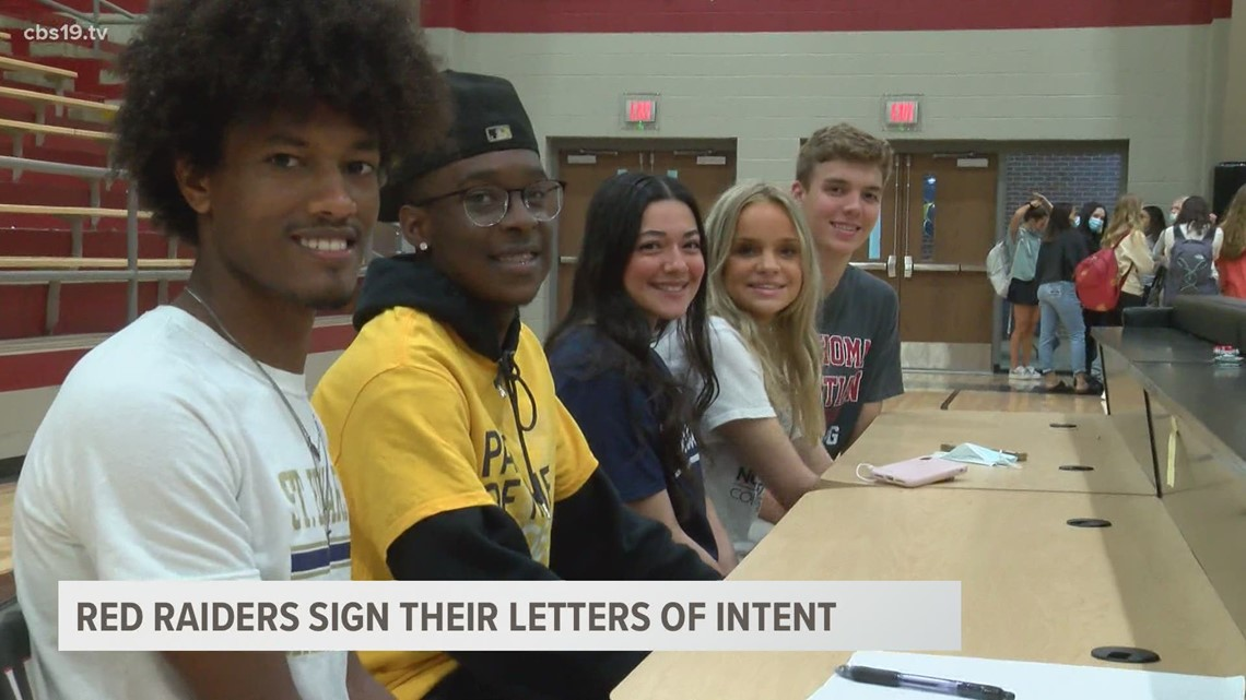 Red Raiders send student athletes to the next level