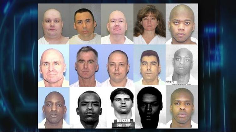 LIST: East Texans on death row | cbs19 tv