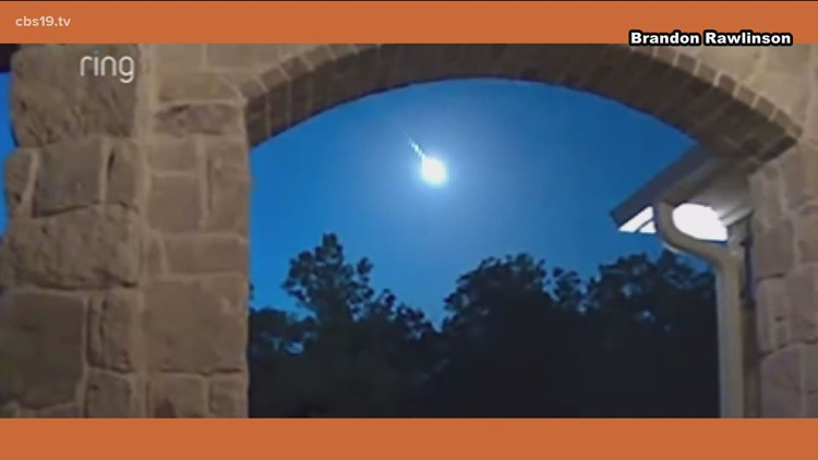 DID YOU SEE IT: Meteor lights up East Texas sky
