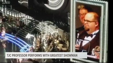 WATCH: TJC music professor gets love from Hugh Jackman