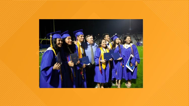 Friendship and language barriers: Valedictorian, salutatorian at Jacksonville ISD share common bond