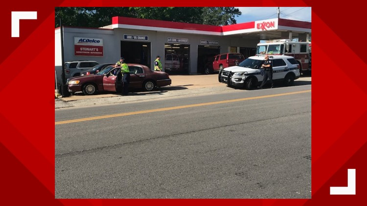 Accident on Troup Highway near South Donnybrook Avenue