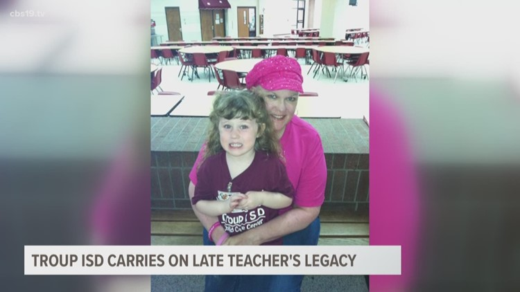 Troup students carry on late teacher's legacy