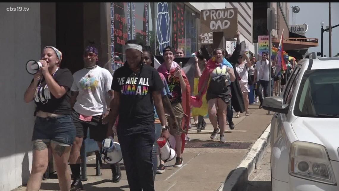 Tyler Drag and Pride Walk