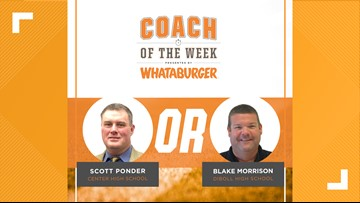 VOTE: Whataburger Coach of the Week - Ponder vs. Morrison