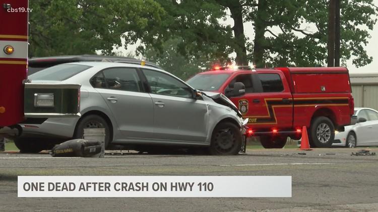 DPS: Bullard woman killed in 2-vehicle crash on HWY 110 in Smith County