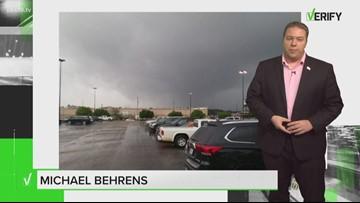 VERIFY: Did a viral post capture a tornado in Longview