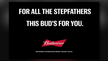 WATCH: Budweiser releases Father's Day ad honoring stepfathers