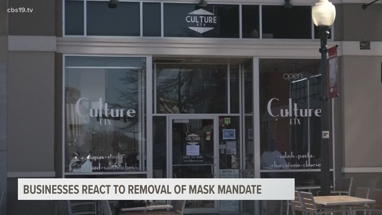 Culture ETX, the Oil Palace share their thoughts on lifting of mask mandate
