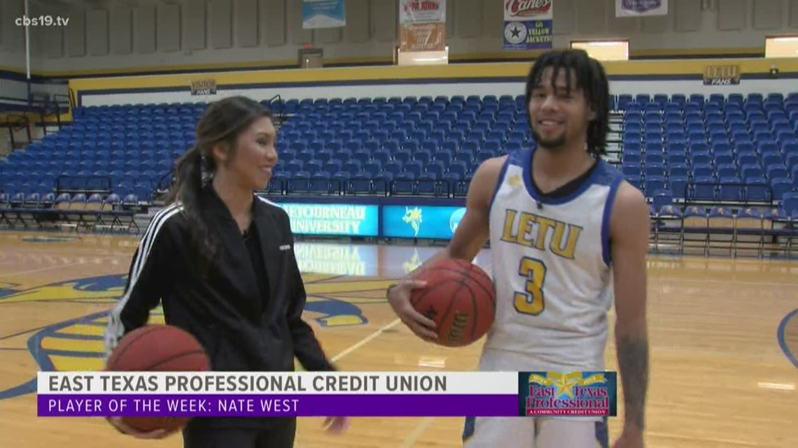 East Texas Professional Credit Union Player of The Week - Nate West