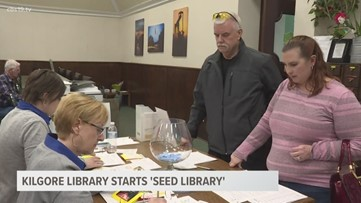 Kilgore Public Library starts 'seed library'