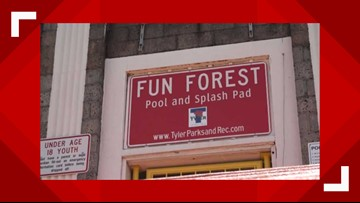 Tyler Parks and Recreation offers ways to stay cool this summer following Fun Forest Pool closing