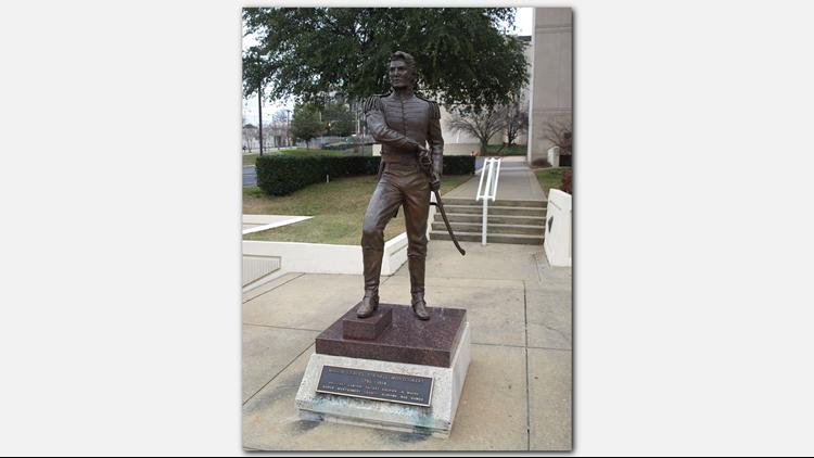 Statue of Maj. Lemuel P. Montgomery