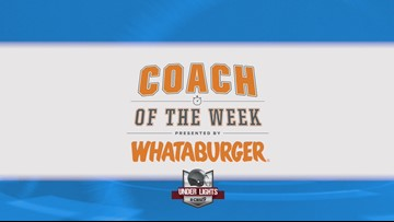 Coach of the Week - Week 11 (Nov. 9)