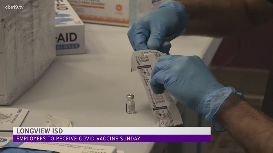 Longview ISD offers COVID-19 vaccinations to employees