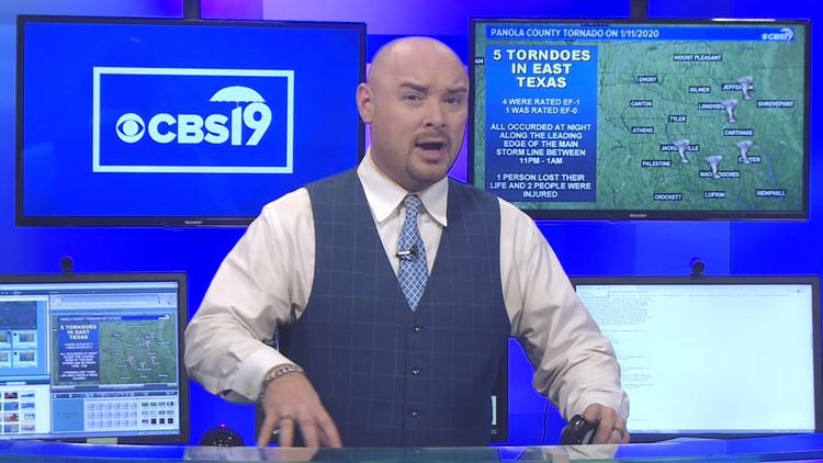 East Texas Tornado Recap from 1/11/2020